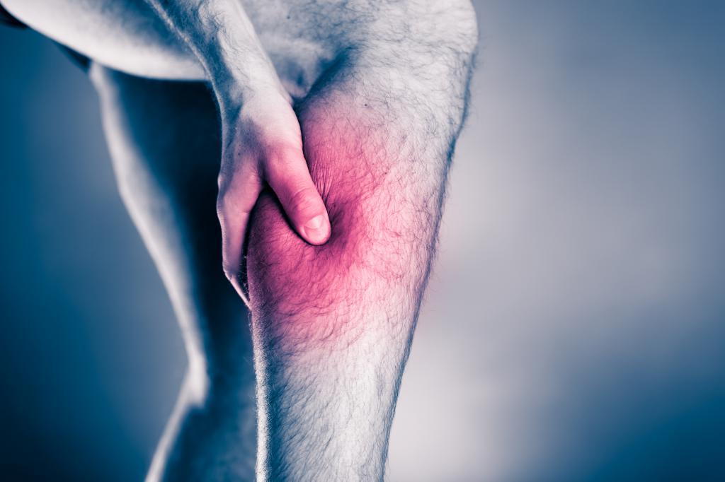 Отек икроножной мышцы и чувство тяжести